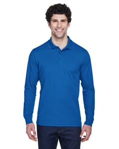 Ash City Core 365 88192 - Pinnacle Core 365™ Mens Performance Long Sleeve Pique Polos