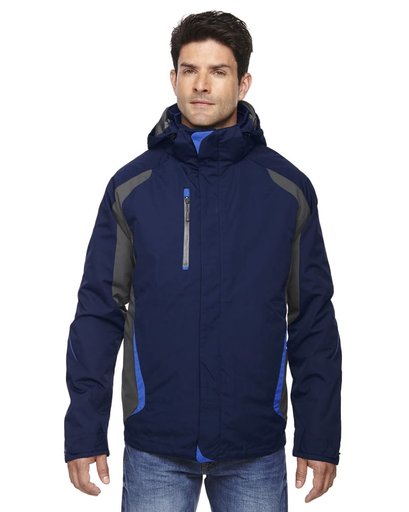 Ash City North End 88195 - Height Men's3-In-1 Jackets With Insulated Liner