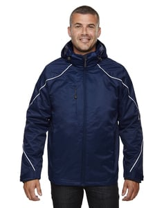 Ash City North End 88196T - ANGLE MENS TALL3-in-1 JACKET WITH BONDED FLEECE LINER