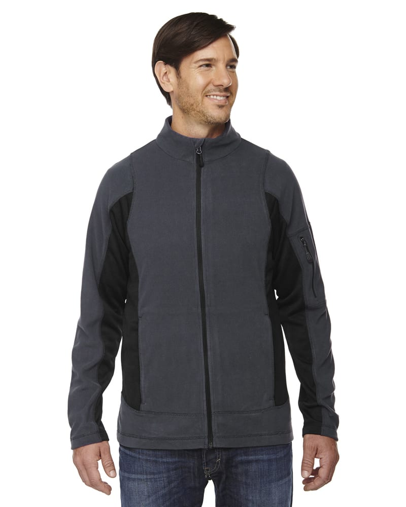 Ash City North End 88198 - Generate Men's Textured Fleece Jackets