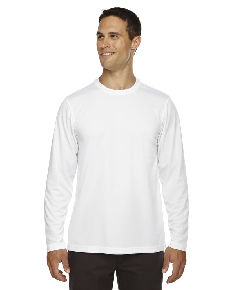 Ash City Core 365 88199 - Agility Core 365™ Men's Performance Long Sleeve Pique Crew Necks