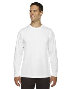Ash City Core 365 88199 - Agility Core 365™ Mens Performance Long Sleeve Pique Crew Necks