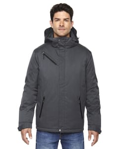 Ash City North End 88209 - Rivet Mens Textured Twill Insulated Jackets