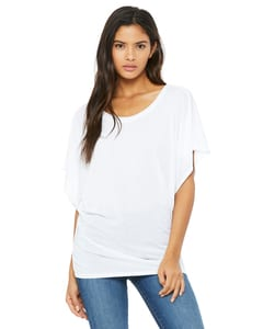 Bella+Canvas 8821 - Ladies Flowy Draped Sleeve Dolman T-Shirt
