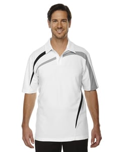 Ash City North End 88645 - Impact Mens Performance Polyester Pique Color-Block Polo
