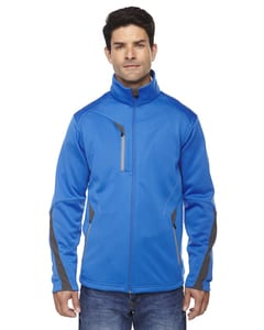 Ash City North End 88649 - Escape Manteau En Molleton Contrecollé Pour Homme