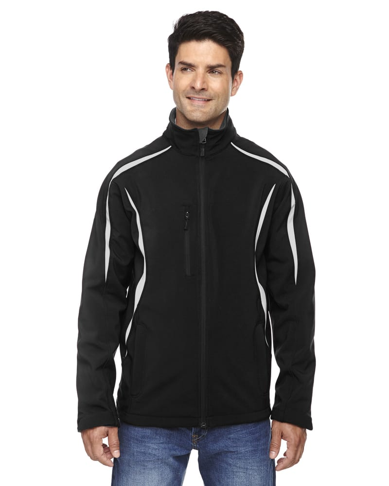 Ash City North End 88650 - Enzo Men's Color-Block Soft Shell Jacket