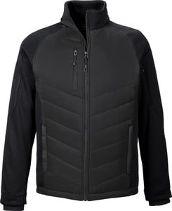Ash City North End 88662 - Epic Manteau Hybride Isolé En Molleton Contrecollé Pour Homme