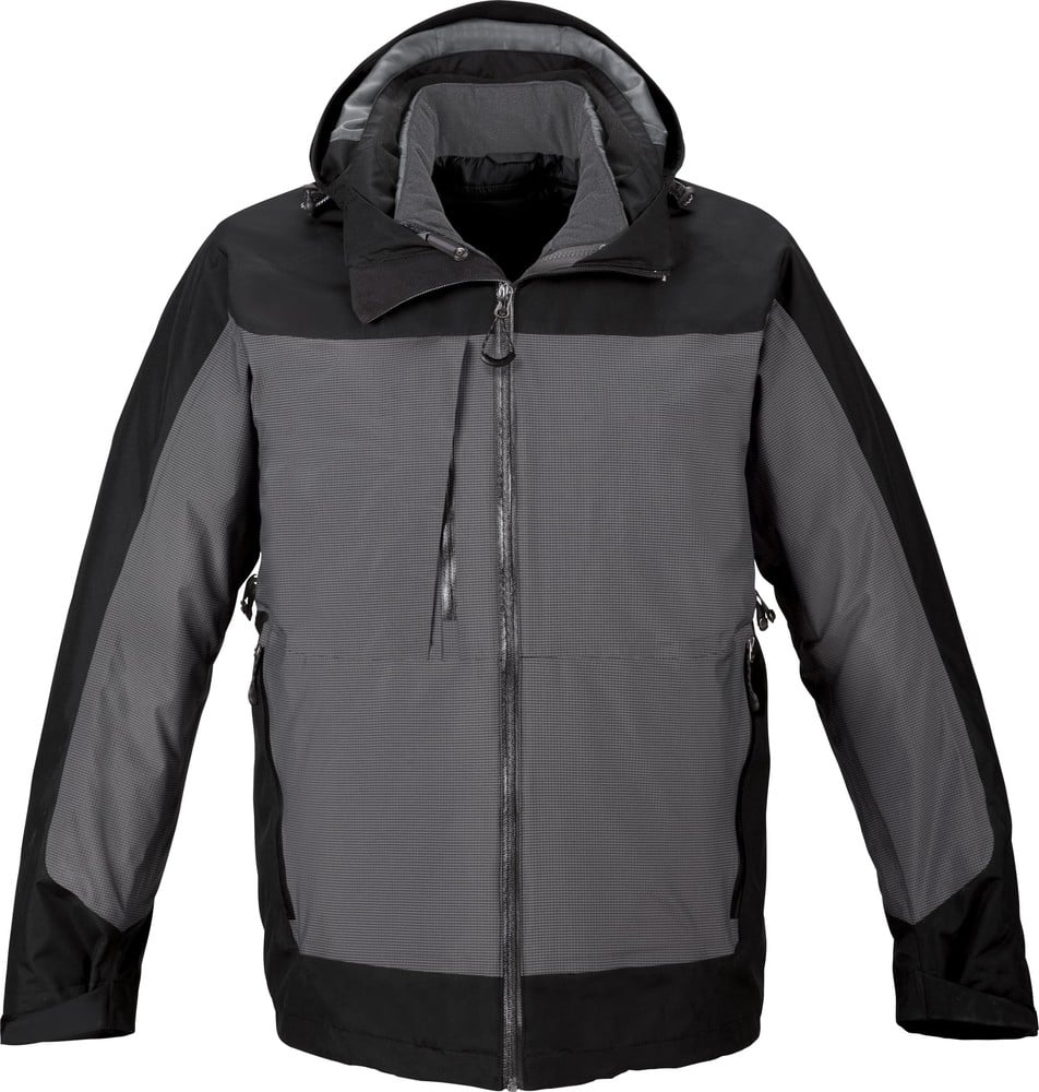Ash City North End 88663 - Alta Men's3-In-1 Seam-Sealed Jacket With Insulated Liner