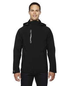 Ash City North End 88665 - Axis MensSoft Shell Jacket With Print Graphic Accents
