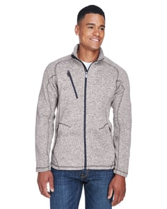 Ash City North End 88669 - Peak Manteau Pour Homme En Tricot Chandail