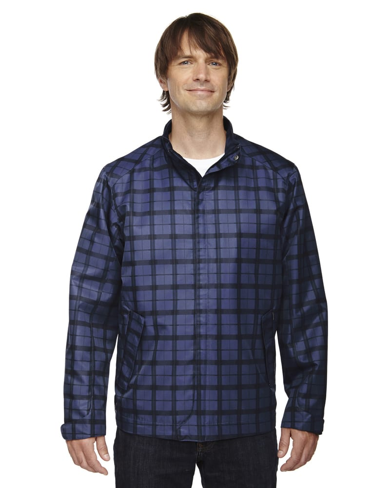 Ash City North End 88671 - Locale Men's Lightweight City Plaid Jacket
