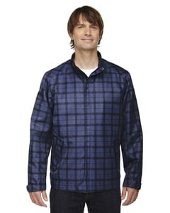 Ash City North End 88671 - Locale Mens Lightweight City Plaid Jacket