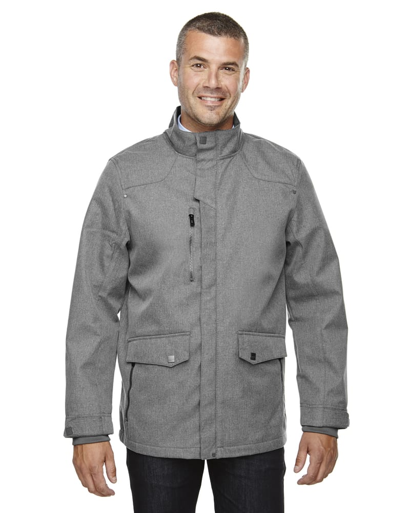 Ash City North End 88672 - Uptown Men's 3-Layer Light Bonded City Textured Soft Shell Jacket