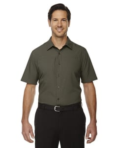 e.c.o Collection 88675 - Charge Mens Recycled Polyester Performance Short Sleeve Shirt