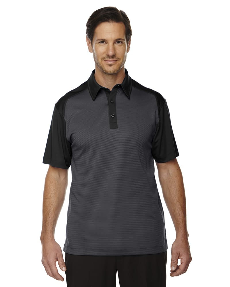 Ash City North End 88676 - SYMMETRY MEN'S UTK cool.logikTM COFFEE PERFORMANCE POLO