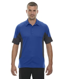 Ash City North End 88677 - REFRESH POLO PERFORMANCE EN JERSEY MÉLANGE UTK frais.logikMC AVEC CAFÉ