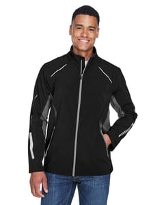 Ash City North End 88678 - PursuitMens3-Layer Light Bonded Hybrid Soft Shell Jacket With Laser Perforation