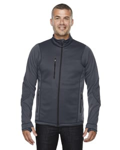 Ash City North End 88681 - Pulse Mens Textured Bonded Fleece Jackets With Print