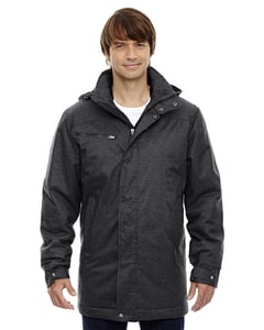 Ash City North End 88684 - Enroute MensTextured Insulated Jackets With Heat Reflect Technology
