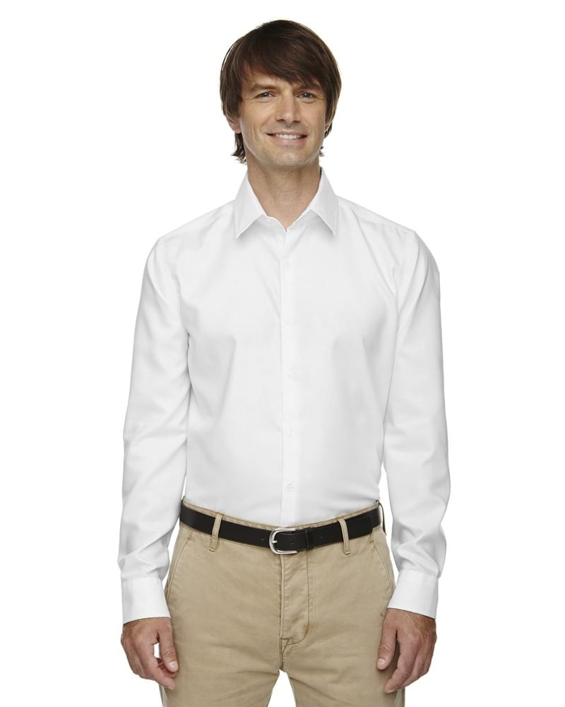 Ash City North End 88689 - Refine Men's Wrinkle Free 2-Ply 80's Cotton Royal Oxford Dobby Taped Shirts