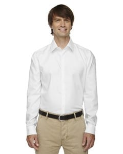 Ash City North End 88689 - Refine Mens Wrinkle Free 2-Ply 80s Cotton Royal Oxford Dobby Taped Shirts