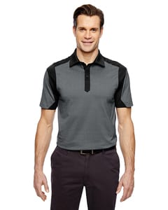 Ash City North End 88692 - Merge Cotton Blend Melange Polo