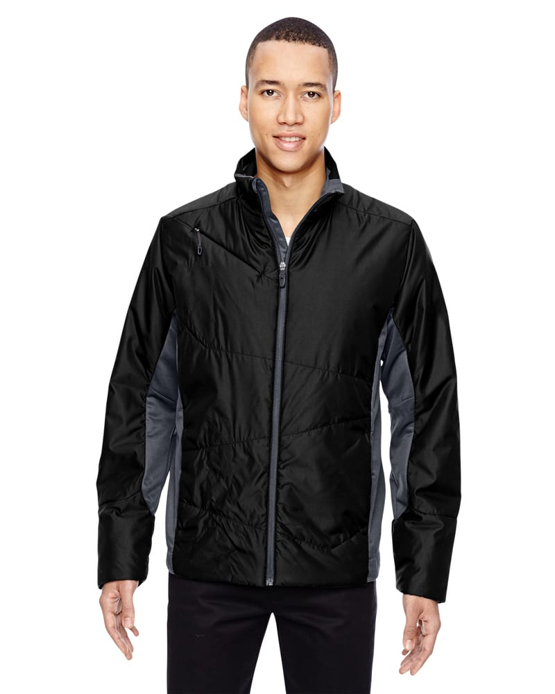 Ash City North End 88696 - Immerge Men's Insulated Hybrid Jackets With Heat Reflect Technology