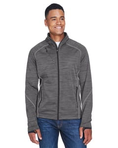 Ash City North End 88697 - Flux Mens Melange Bonded Fleece Jackets