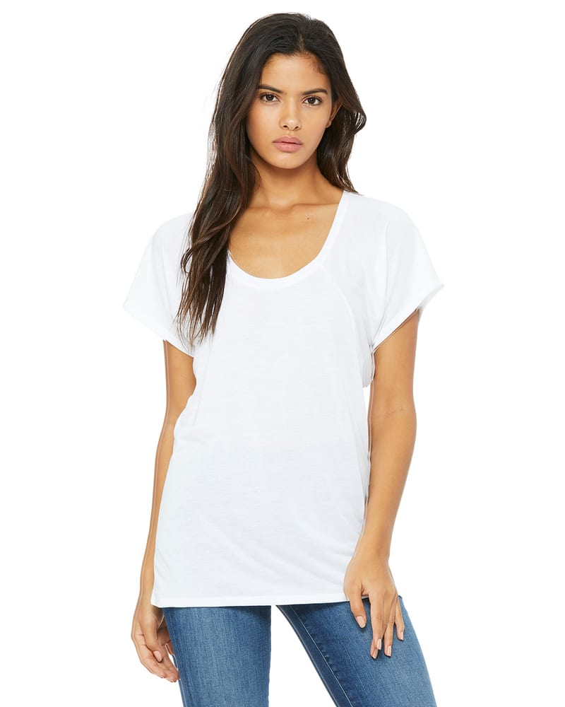 BELLA+CANVAS B8801 - Bella Women's Flowy Raglan Tee