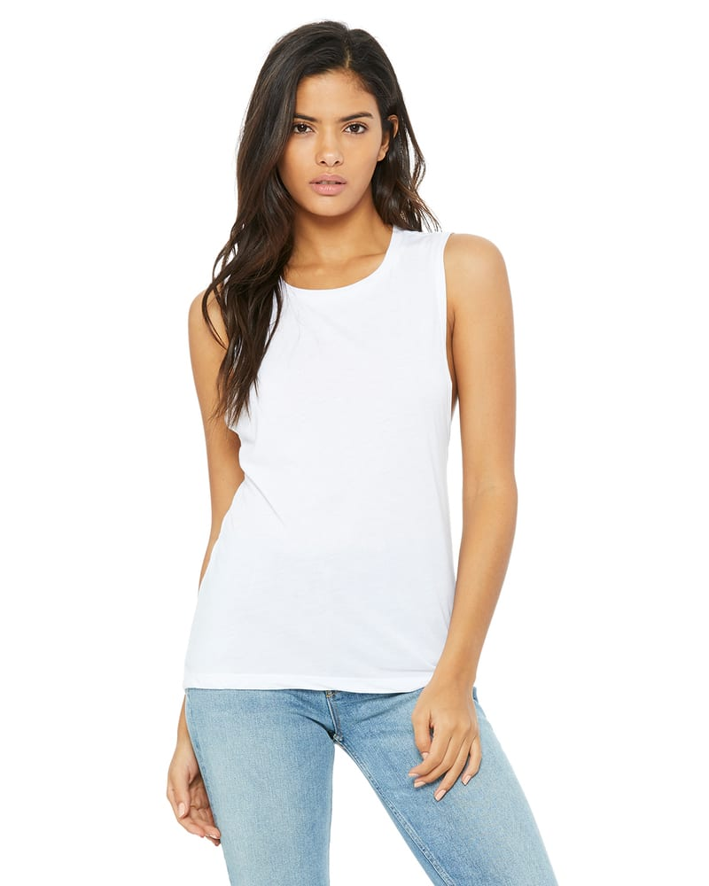 BELLA+CANVAS B8803 - Women's Flowy Scoop Muscle Tank