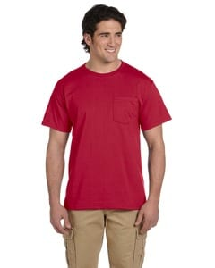 Jerzees 29P - T-shirt avec poche HEAVYWEIGHT BLENDMC 50/50, 9,3 oz deMC