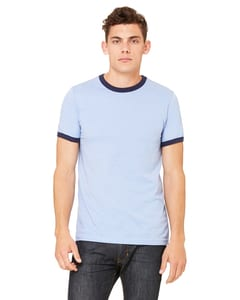 Bella+Canvas 3055C - Men's Jersey Short-Sleeve Ringer T-Shirt