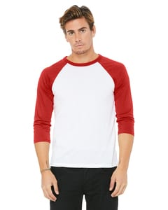 Bella+Canvas 3200 - Unisex 3/4-Sleeve Baseball T-Shirt