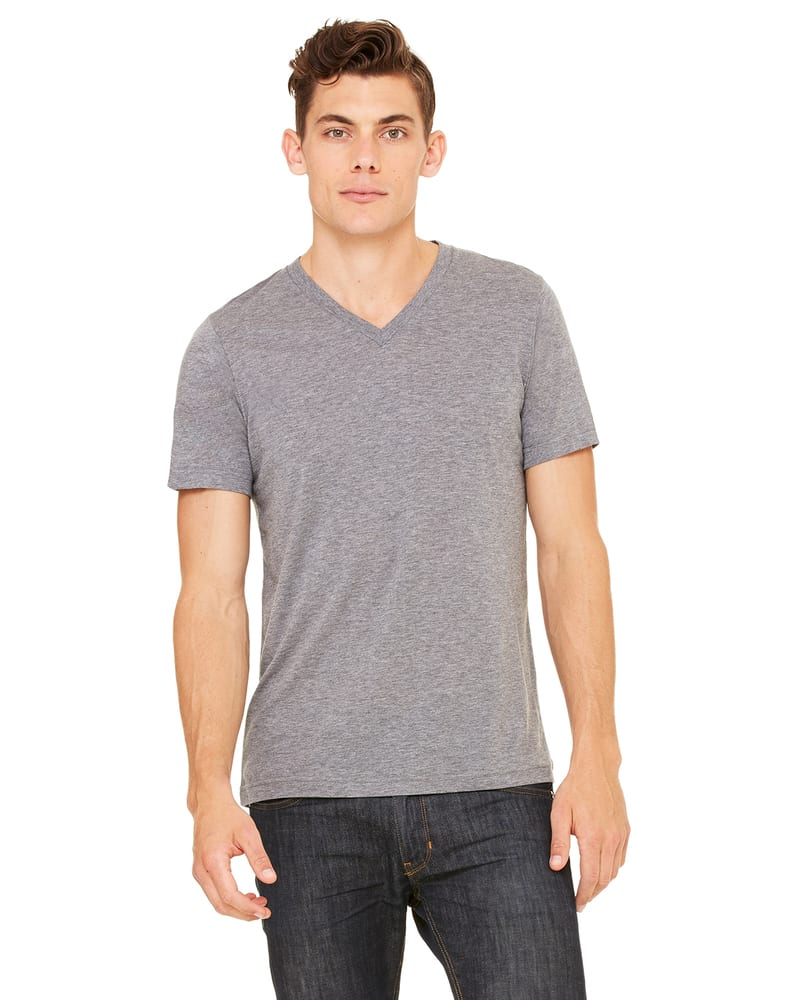 Bella+Canvas 3415C - Unisex Triblend Short-Sleeve V-Neck T-Shirt