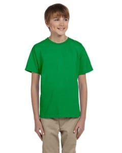 Fruit of the Loom 3931B - T-shirt pour enfant 100% Heavy cottonMD, 8,3 oz de MD