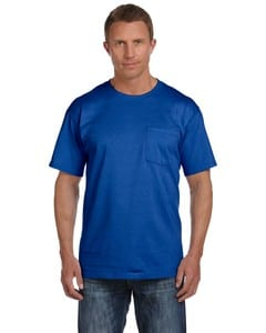 Fruit of the Loom 3931P - ® FL 8.3 oz., 100% Cotton HD Pocket TEE