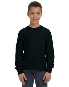 Fruit of the Loom 4930B - T-shirt pour enfant 100% Heavy cottonMD, 8,3 oz de MD à manches longues