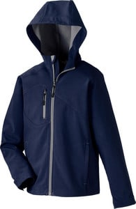 Ash City North End 68166 - ProspectYouth Soft Shell Jacket With Hood