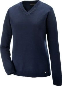 Ash City North End 71010 - Merton Ladies Soft Touch V-Neck Sweater