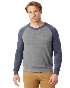 Alternative AA3202 - Mens Champ Colorblocked Fleece Crew