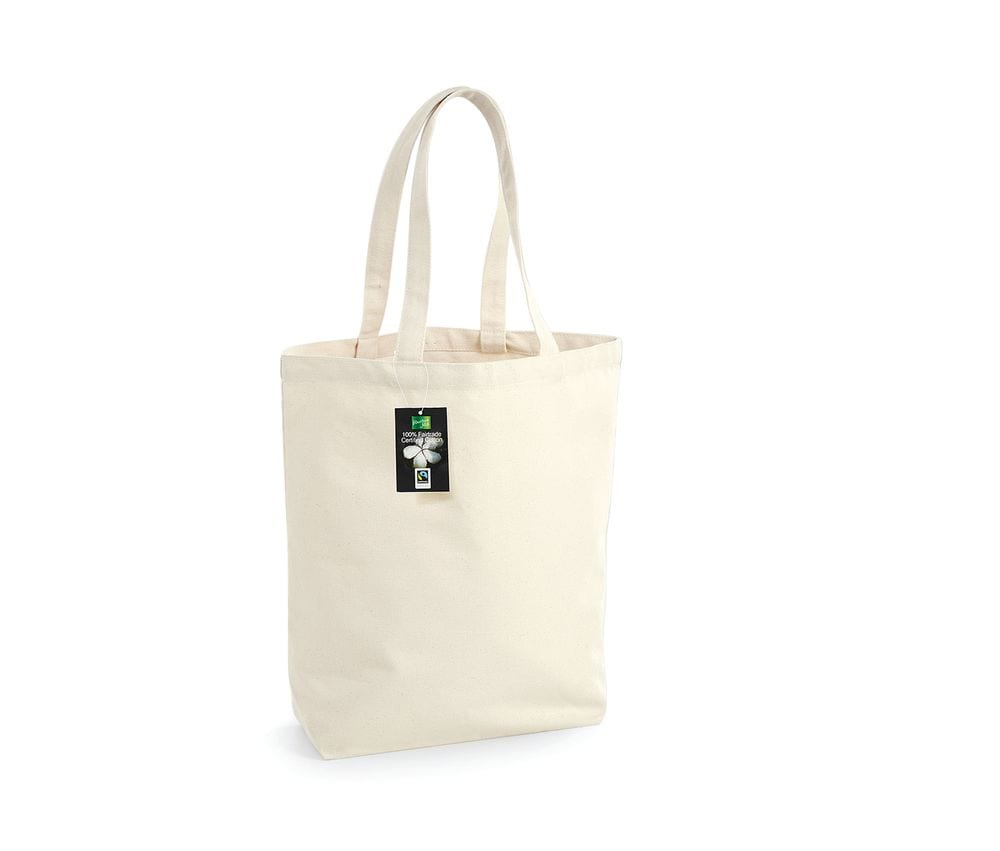 Westford Mill WM671 - Fairtrade cotton camden shopper