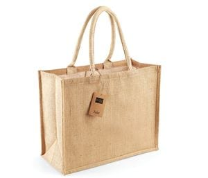Westford Mill WM407 - Jute classic shopper Bolso Mujer