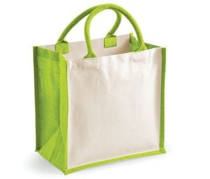 Westford Mill WM421 - Printers midi jute bag