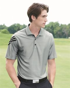 adidas A133 - Golf ClimaCool® Mesh Polo With Textured Pattern