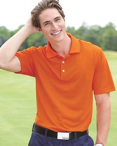 adidas A161 - Golf ClimaLite® Textured Short Sleeve Polo