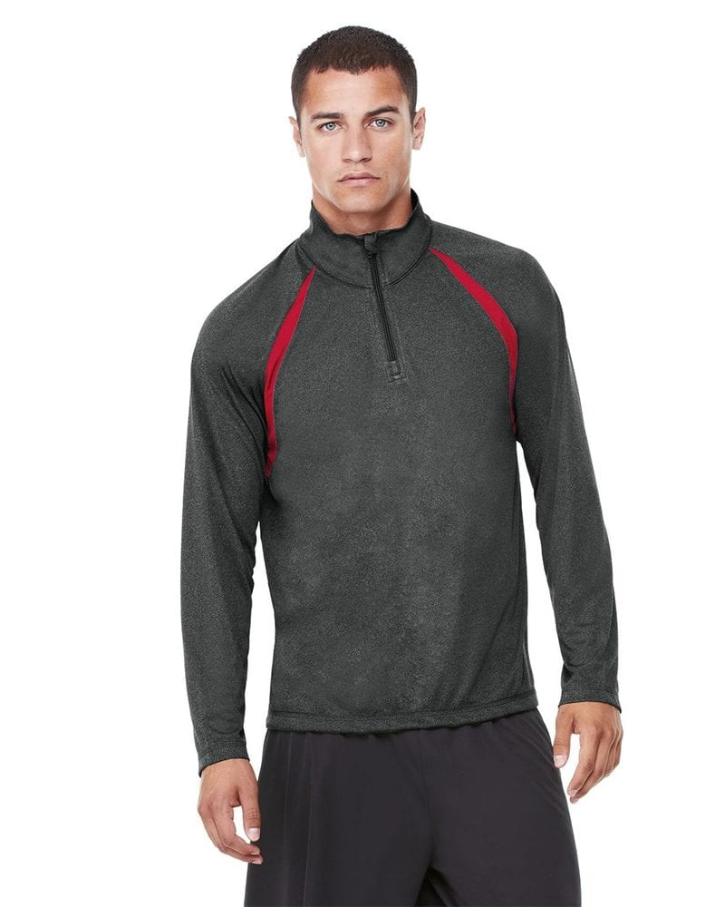 All Sport M3026 - Quarter-Zip Lightweight Raglan Pullover