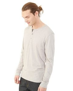 Alternative 1947 - Eco-Mock Twist Long Sleeve Henley