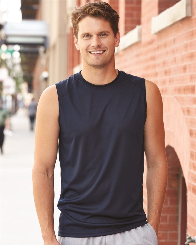 Badger 4130 - B-Dry Core Sleeveless T-Shirt