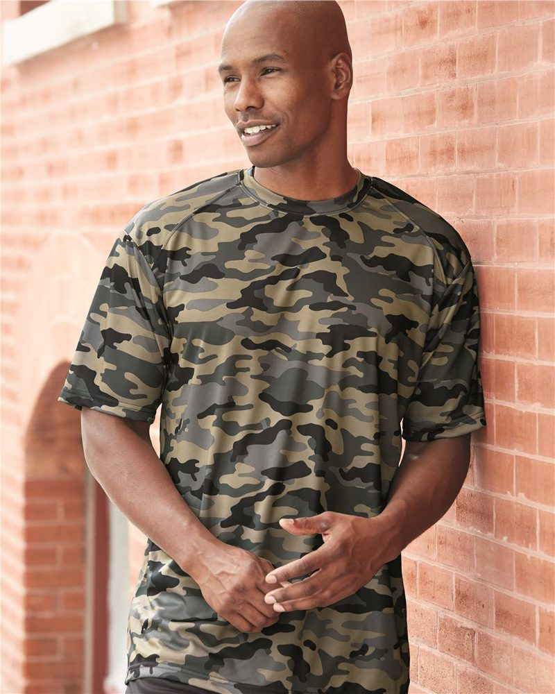 Badger 4181 - Camo Short Sleeve T-Shirt